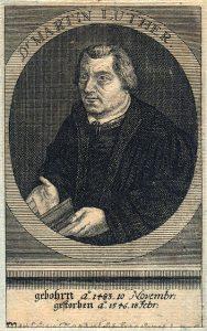 Image of Martin Luther. Photo by Skara Kommun. Online Image. Taken on Dec. 5, 2011.