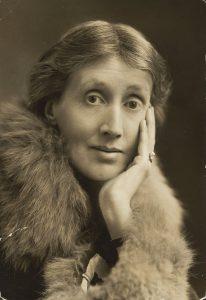 Photo of Virginia Woolf.