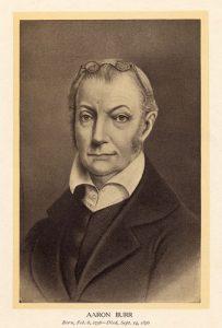 Sketch of Aaron Burr.