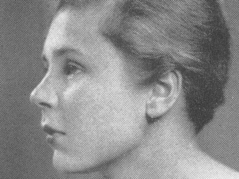 Photo of Elizabeth Bishop from 1934.