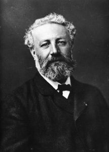 Portrait of Jules Verne.