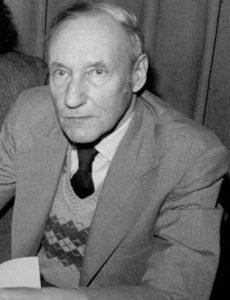 Photo of William S. Burroughs.
