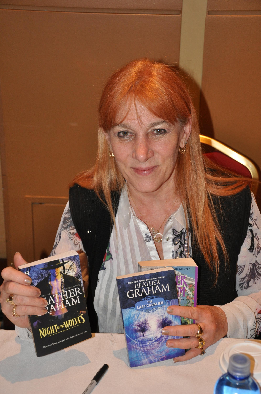 Photo of author Heather Graham.