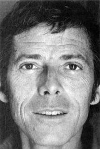 Photo of James Merrill.