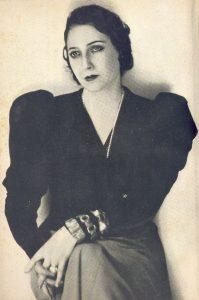 Photo of Juana de Ibarbourou.