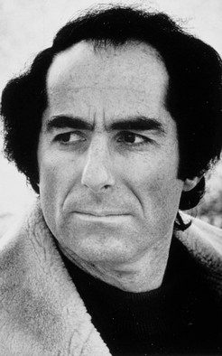 Photo of Philip Roth.