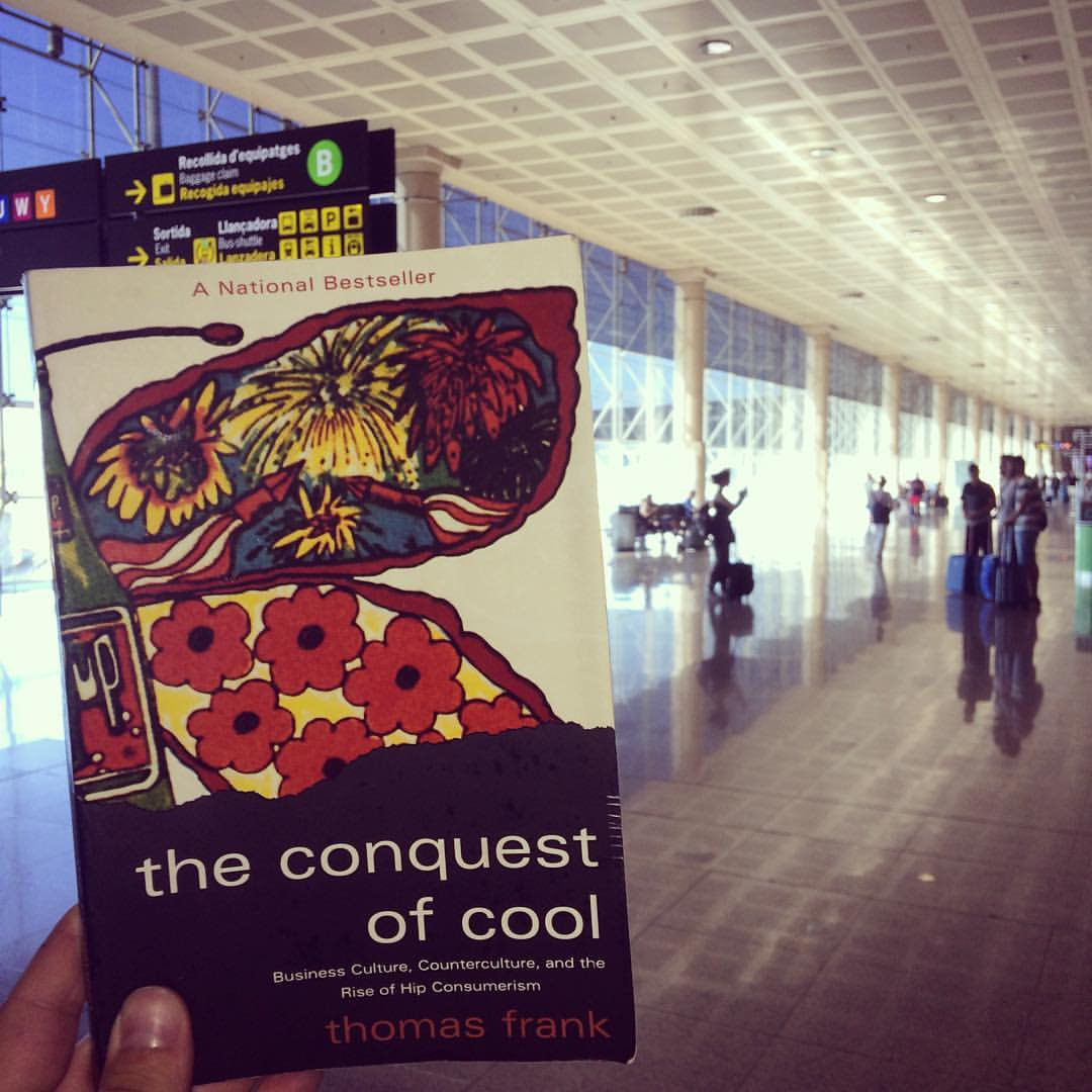 "Photo of Thomas Frank's book, ""The Conquest of Cool."""