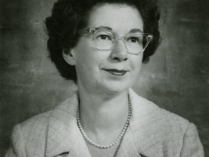 Photo of Beverly Cleary in 1971.