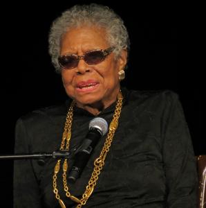 Photo of Maya Angelou.