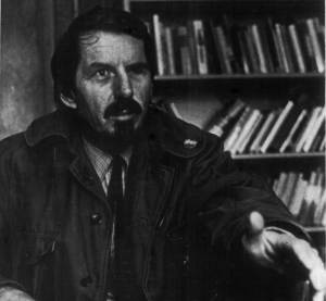 Photo of Robert Creeley.