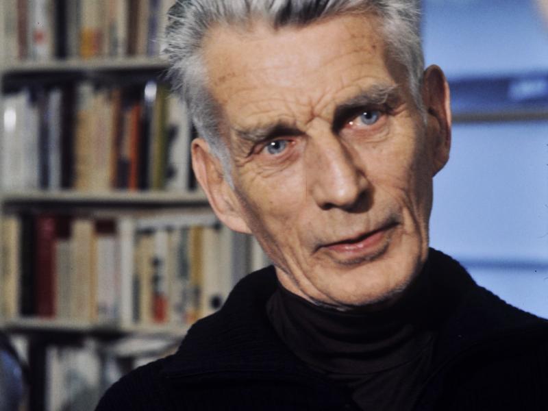 Photo of Samuel Beckett.