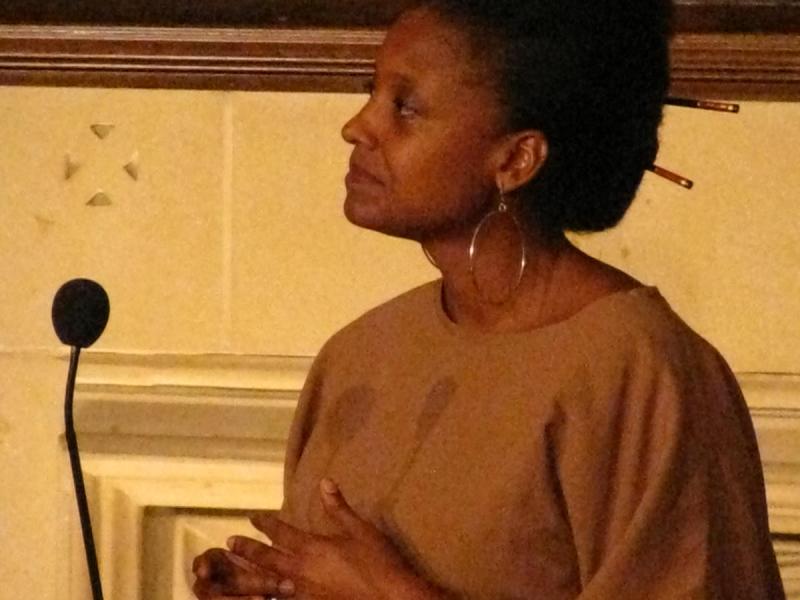 Photo of Tracy K. Smith.