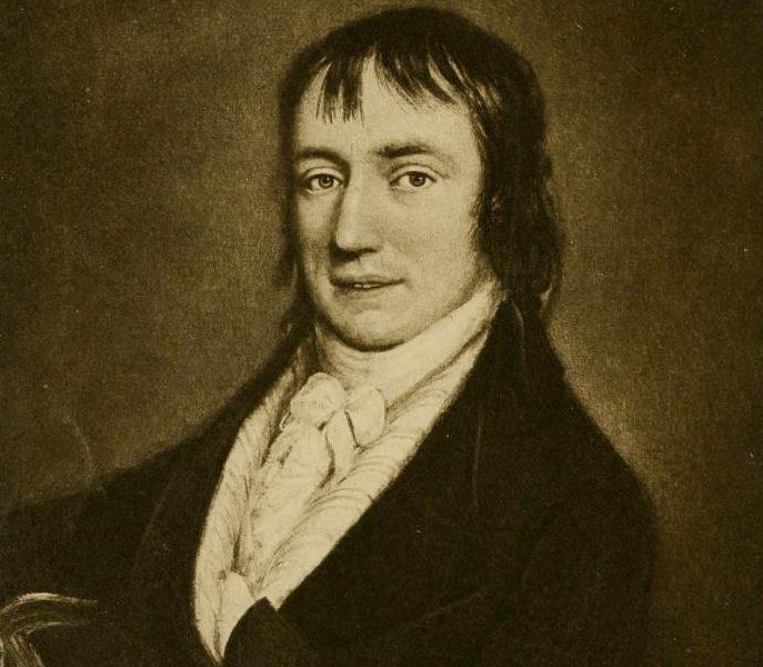 Portrait of William Wordsworth.