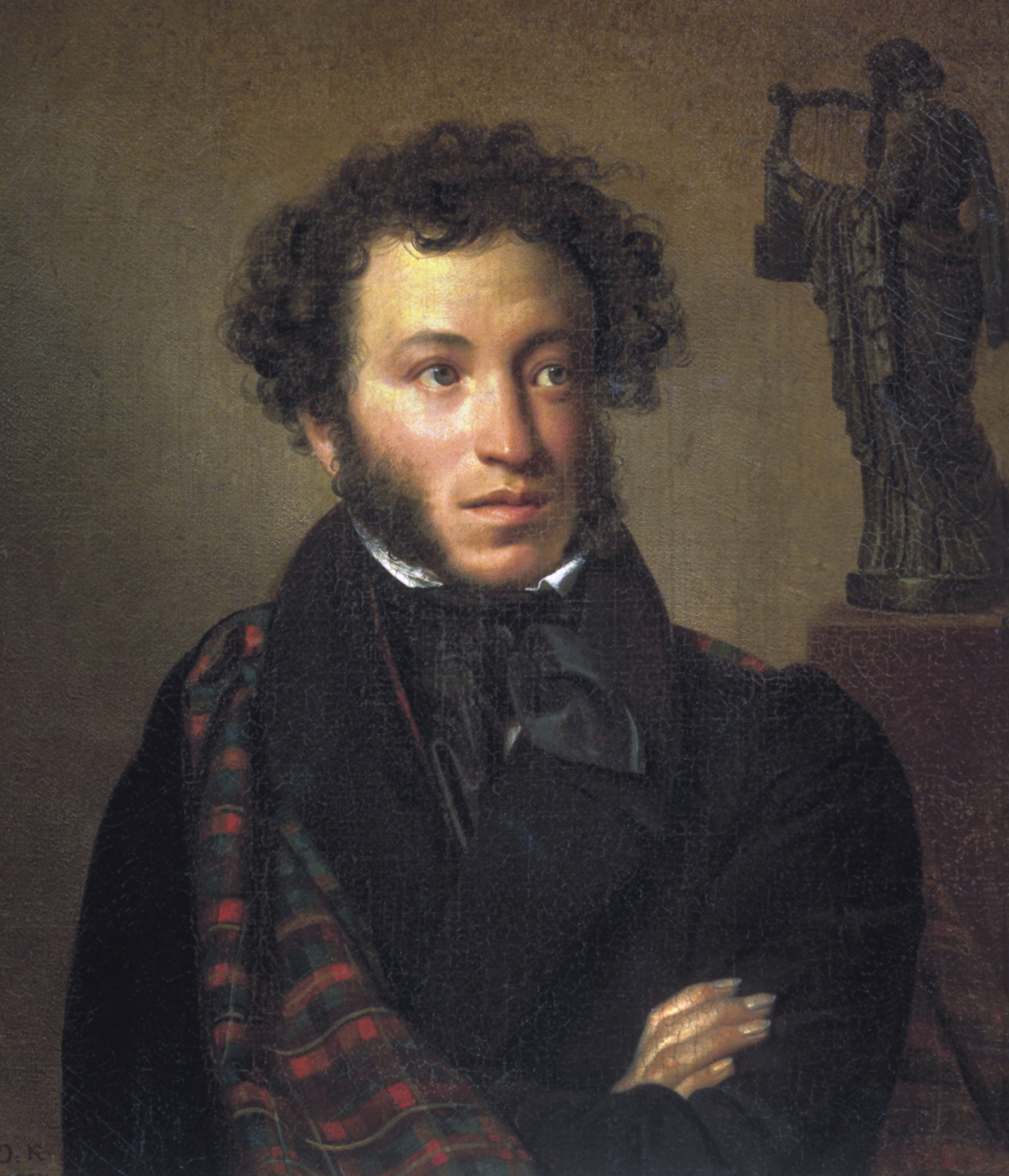 Portrait of Alexander Pushkin.
