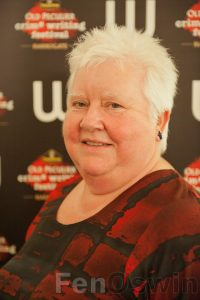 Photo of Val McDermid.