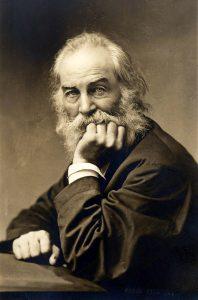 Photo of Walt Whitman.