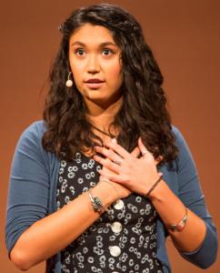 Photo of Sarah Kay.