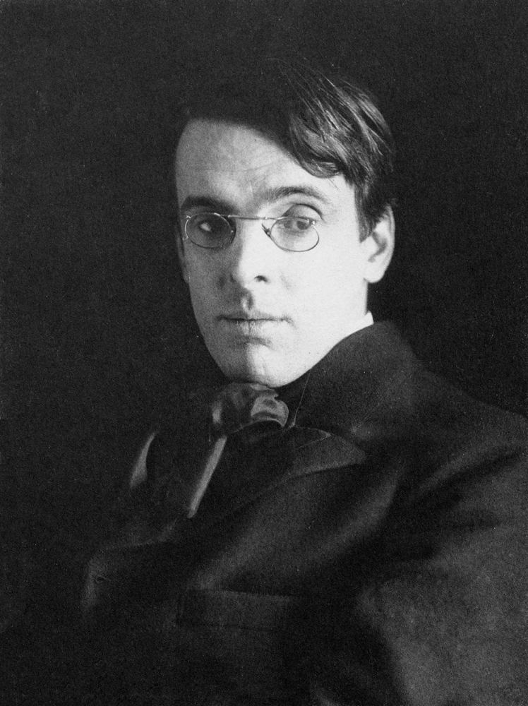 Photo of William Butler Yeats.