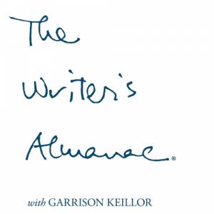 The Writer's Almanac logo.