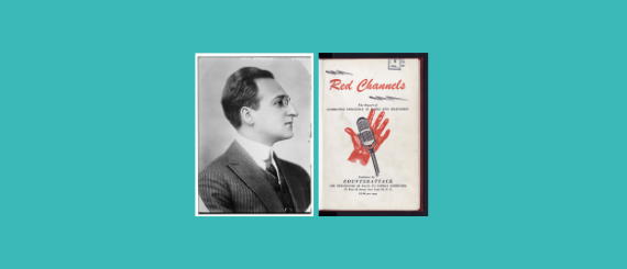 Louis Untermeyer and the cover of Red Channels